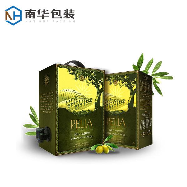 Bag in box for edible oil